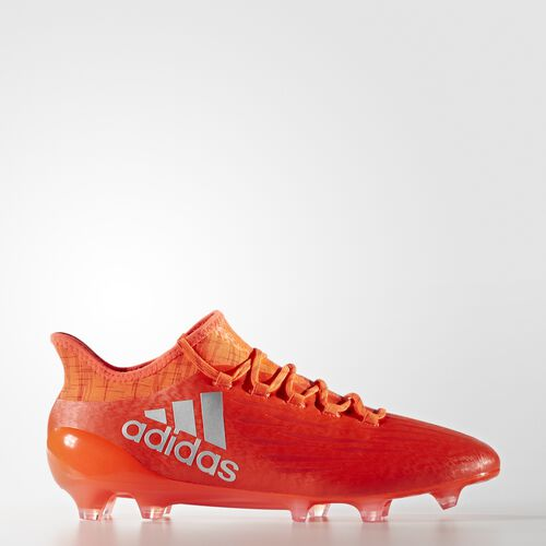adidas - X 16.1 Firm Ground Cleats Solar Red  /  Silver Metallic  /  Hi Res Red S81940