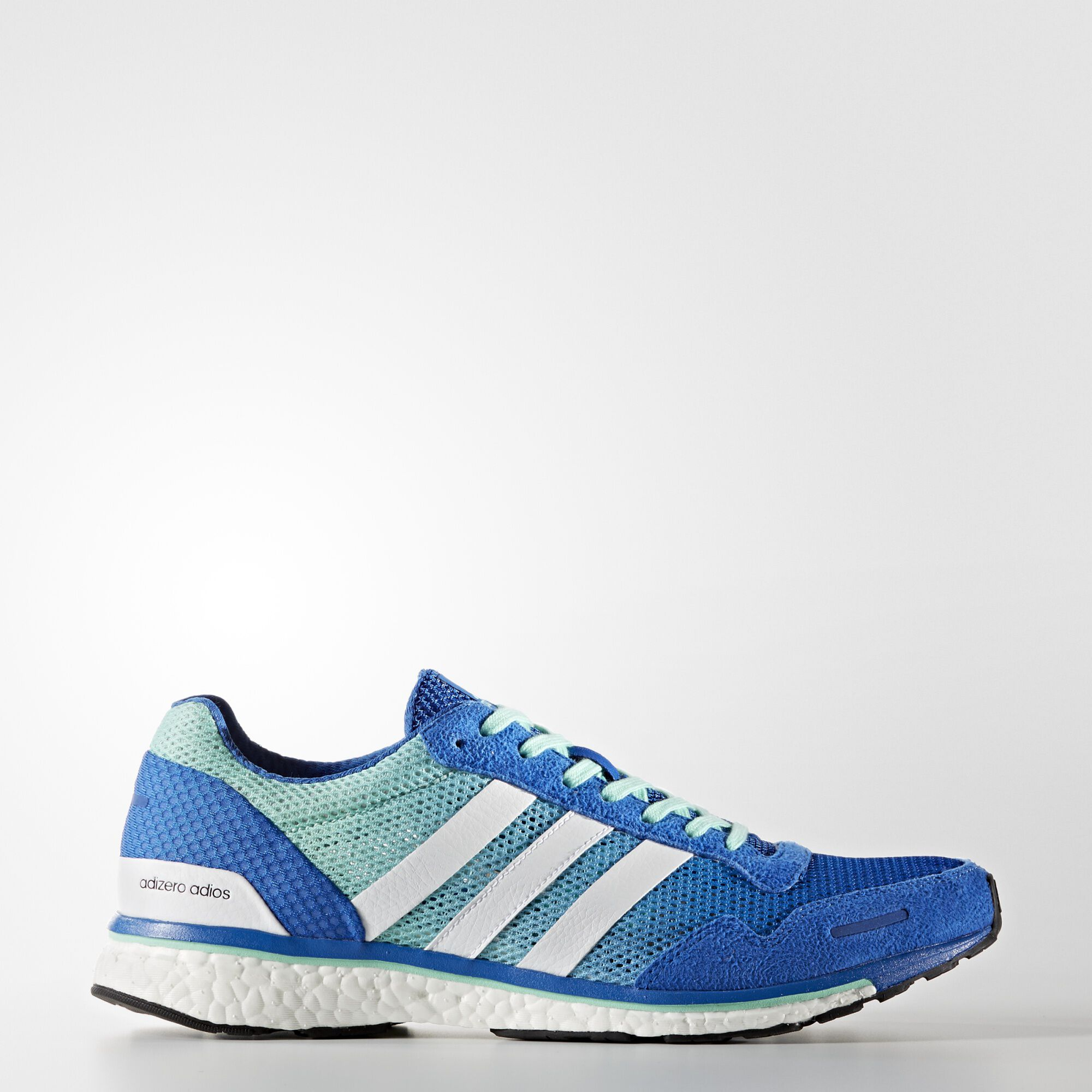 Adidas Shoes Blue Running