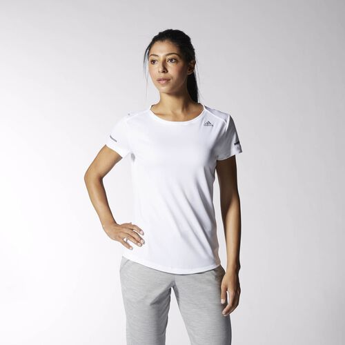 adidas - Sequencials Climalite Run Tee White S02988