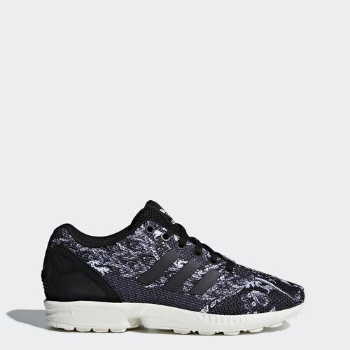 adidas - ZX Flux Shoes Core Black  /  Core Black  /  Legacy White S76592