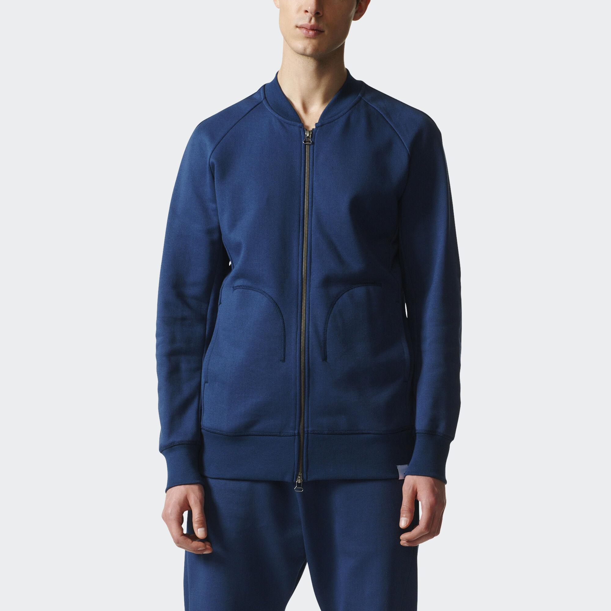 adidas blue and black jacket