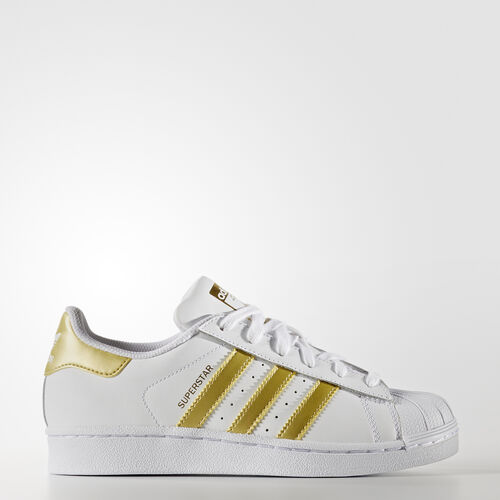 adidas - Superstar Shoes Running White Ftw  /  Metallic Gold  /  Metallic Gold BB2870