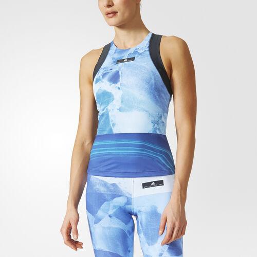 adidas - Run Climacool Stone Print Tank Top Legend Blue BQ8290