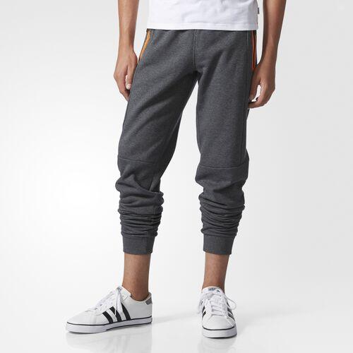 adidas - Fleece Track Pants Dark Grey Heather AY5774