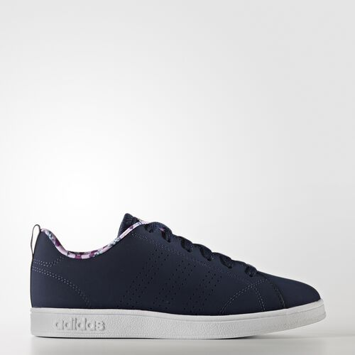 adidas - VS Advantage Clean Shoes Collegiate Navy  /  Collegiate Navy  /  Light Orchid AW4121