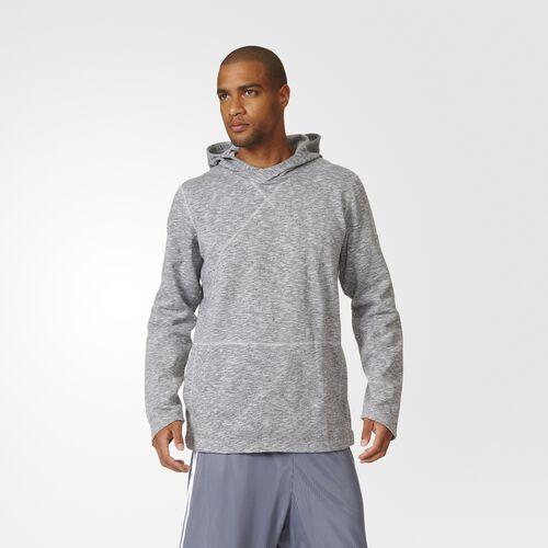 adidas - Cross-Up Pullover Hoodie Light Solid Grey AZ1517