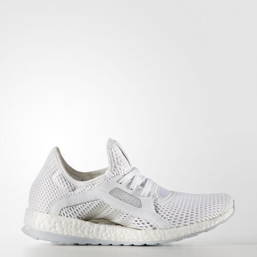adidas - PureBOOST X Shoes Running White Ftw  /  Silver Metallic  /  Clear Grey BB4969