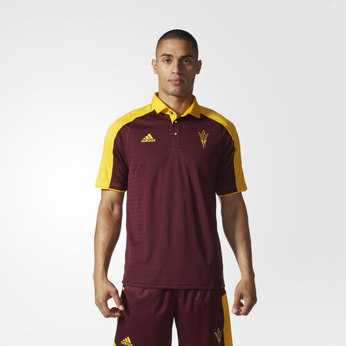 adidas - Sun Devils Coach Polo Shirt MULTI AT2048
