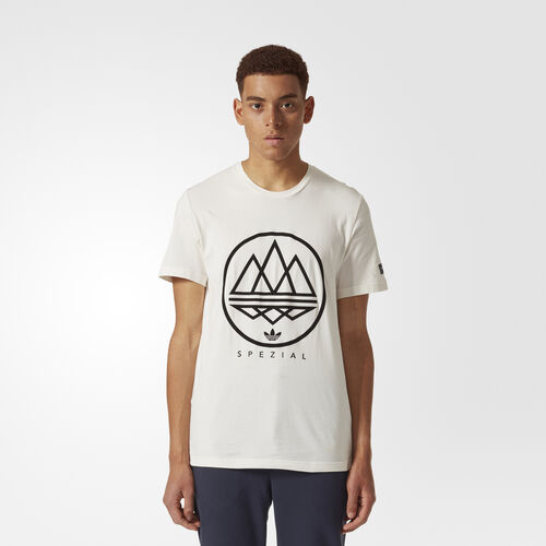 adidas - Mod Trefoil Tee Chalk White CD2450