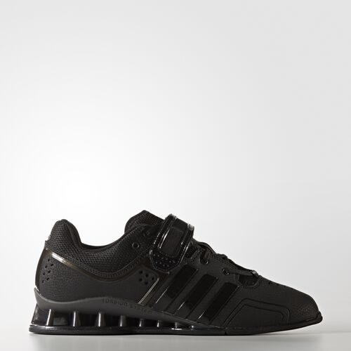 adidas - adipower Weightlifting Shoes Core Black  /  Night  /  Metallic Silver BA7923