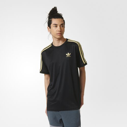 adidas - ADV Club Jersey Black  /  Metallic Gold AY8748