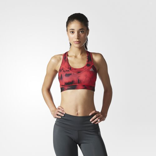 adidas - Techfit Graphic Bra Ray Red S96999