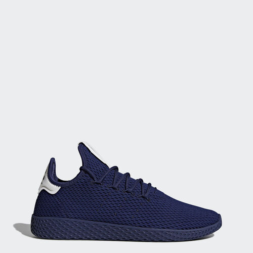 adidas - Pharrell Williams Tennis Hu Shoes Blue  /  Blue  /  Running White BY8719