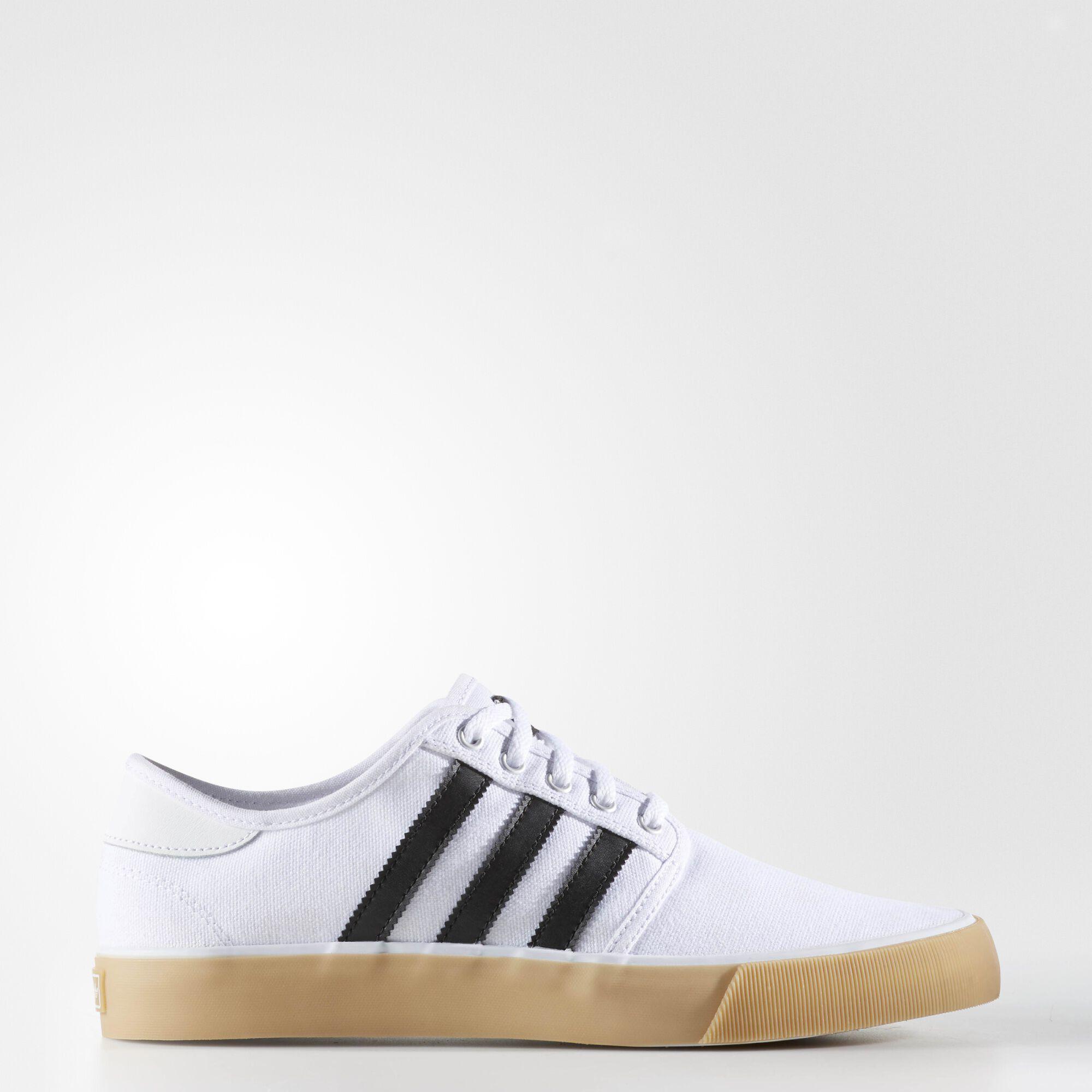 Adidas skate shoes zumiez - Adidas Seeley Essentials Shoes Running White Ftw Black Running White Bb8560