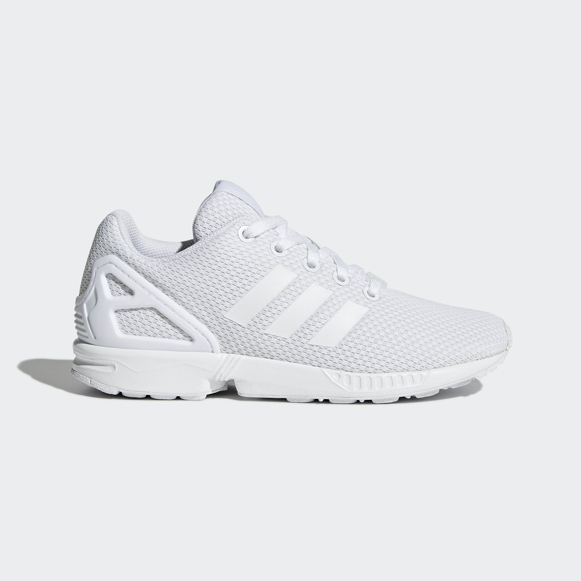 Adidas Zx Flux White And Black