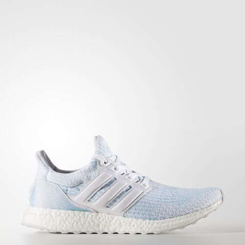 adidas - UltraBOOST Parley Shoes Running White  /  Running White  /  Icey Blue CP9685