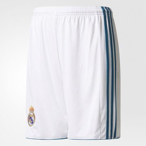 adidas - Real Madrid Home Replica Shorts White  /  Vivid Teal B31117