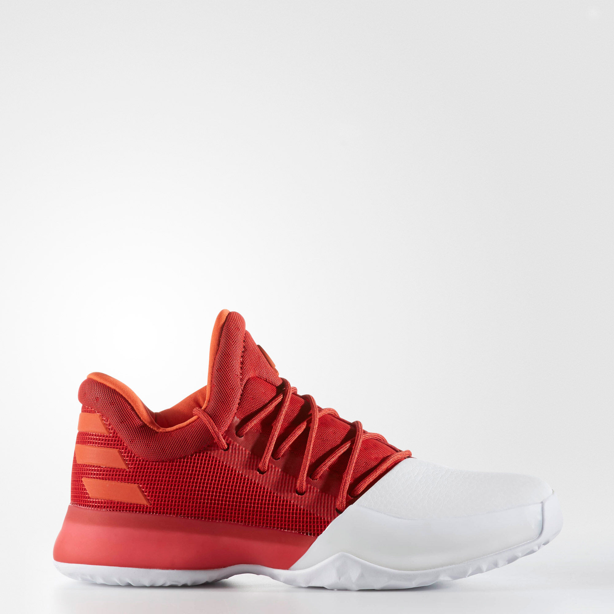 Adidas Harden 1 White Silver Red