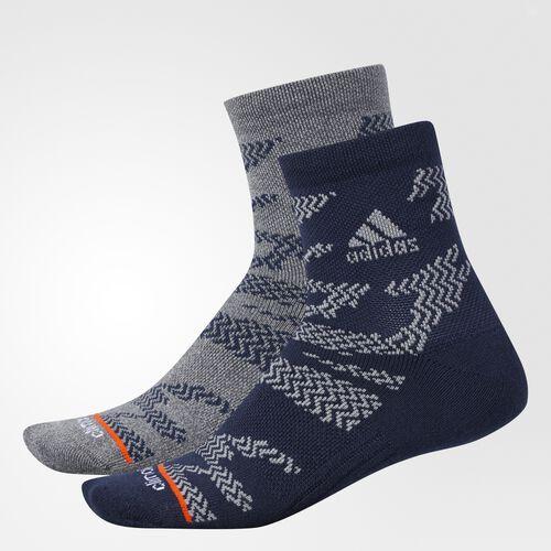 adidas - Tiger Style Quarter Socks 2 Pairs Collegiate Navy CI0673