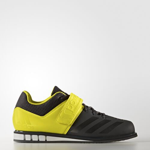 adidas - Powerlift.3 Shoes Solid Grey  /  Night  /  Lemon Peel BB2844
