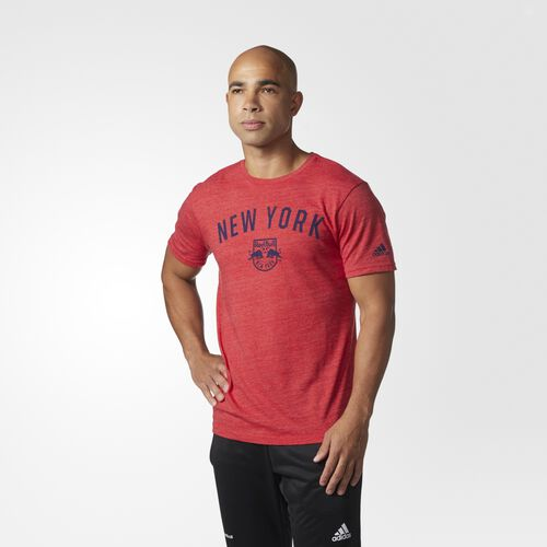adidas - TRI-BLEND S/S TEE M RED HEATHERE Red BT1915