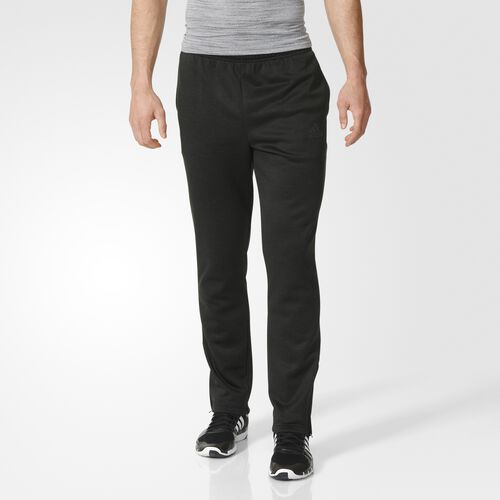 adidas - Team Issue Fleece Tapered Pants Black  /  Colored Heather  /  Solid Grey AY7464