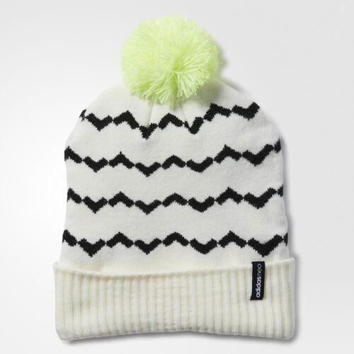 adidas - Pompom Pattern Beanie Chalk White AZ1303