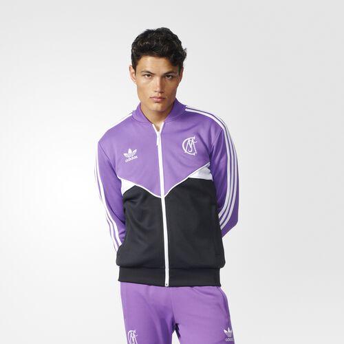 adidas - Real Madrid Track Jacket Ray Purple AZ1229
