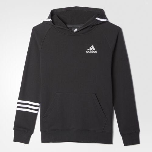 adidas - Streetball Pullover Hoodie Black  /  White BH3314