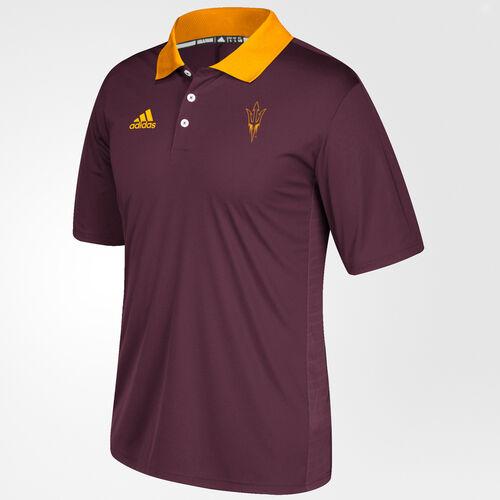 adidas - Sun Devils Sideline Coaches Polo Shirt Maroon BV2801