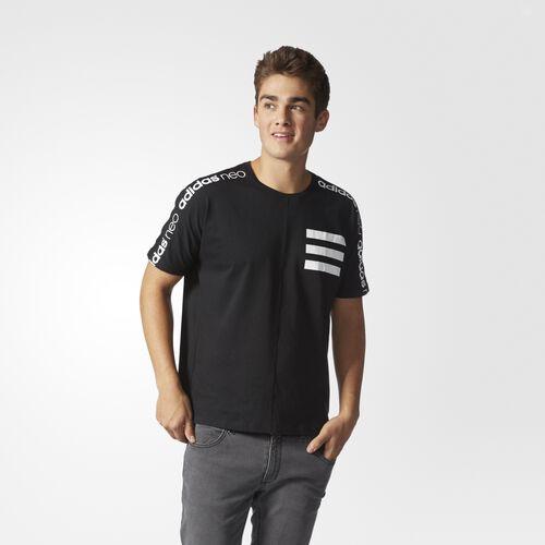 adidas - Moto Graphic Tee Black  /  White AY9988