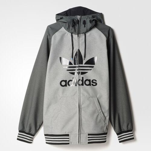 adidas - Greeley Soft Shell Jacket Core Heather  /  Dark Grey Heather S95423