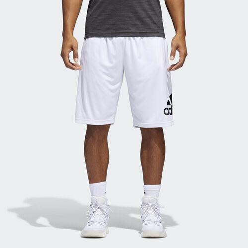 adidas - Crazylight Shorts White  /  Black BR1956