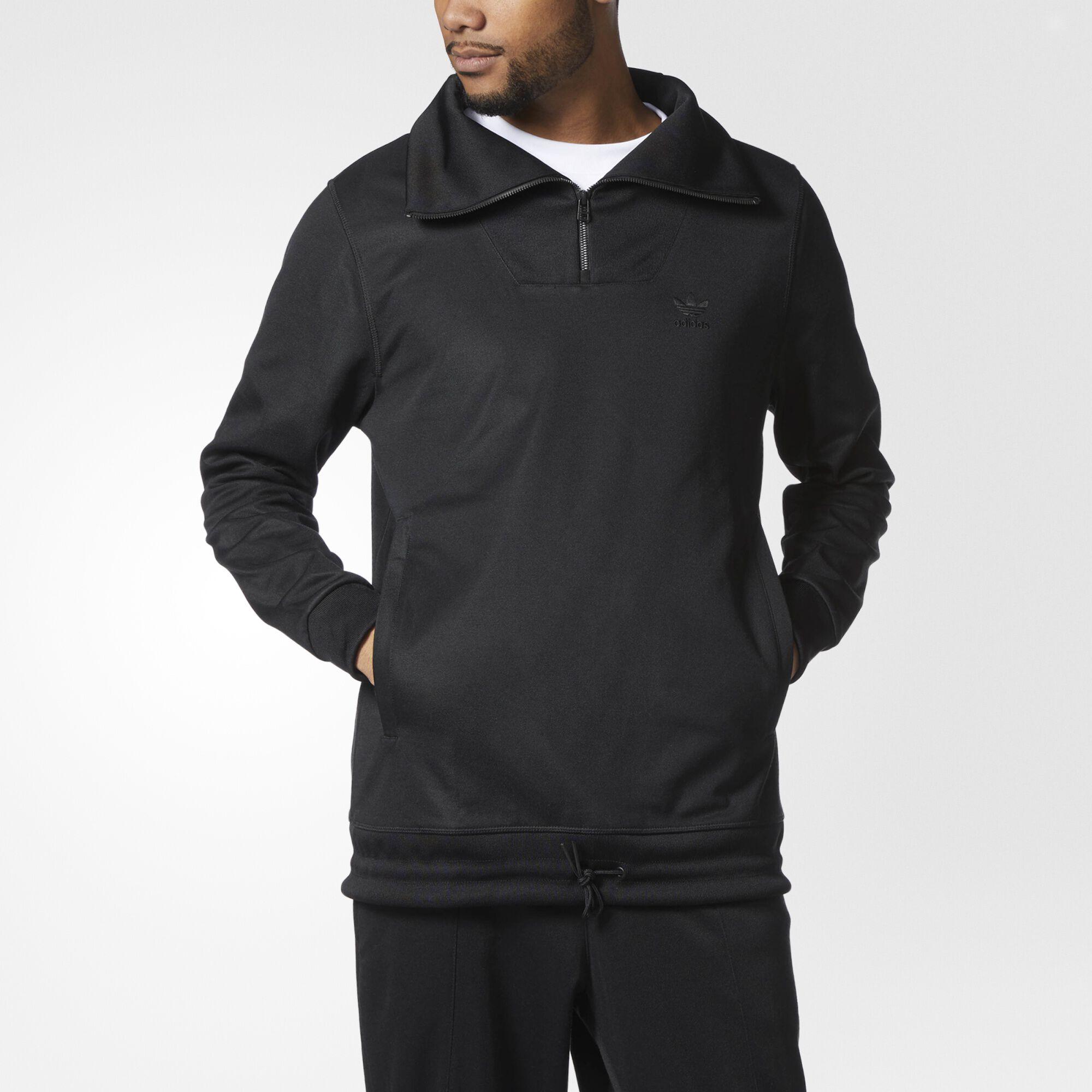 all black adidas hoodie