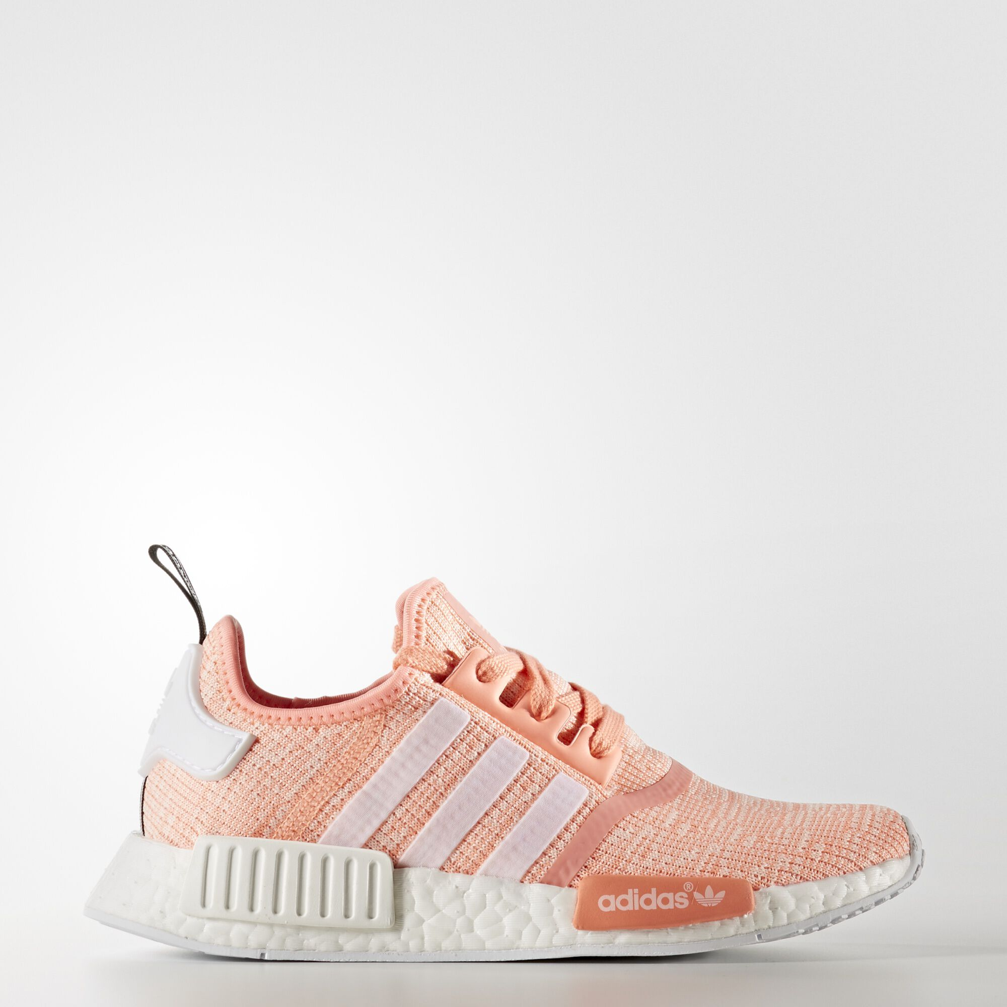adidas nmd r1 shoes sun glow running white by3034. Black Bedroom Furniture Sets. Home Design Ideas
