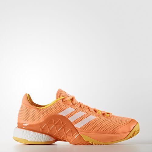 adidas - Barricade Boost 2017 Shoes Glow Orange  /  Running White Ftw  /  Solar Gold BA9104