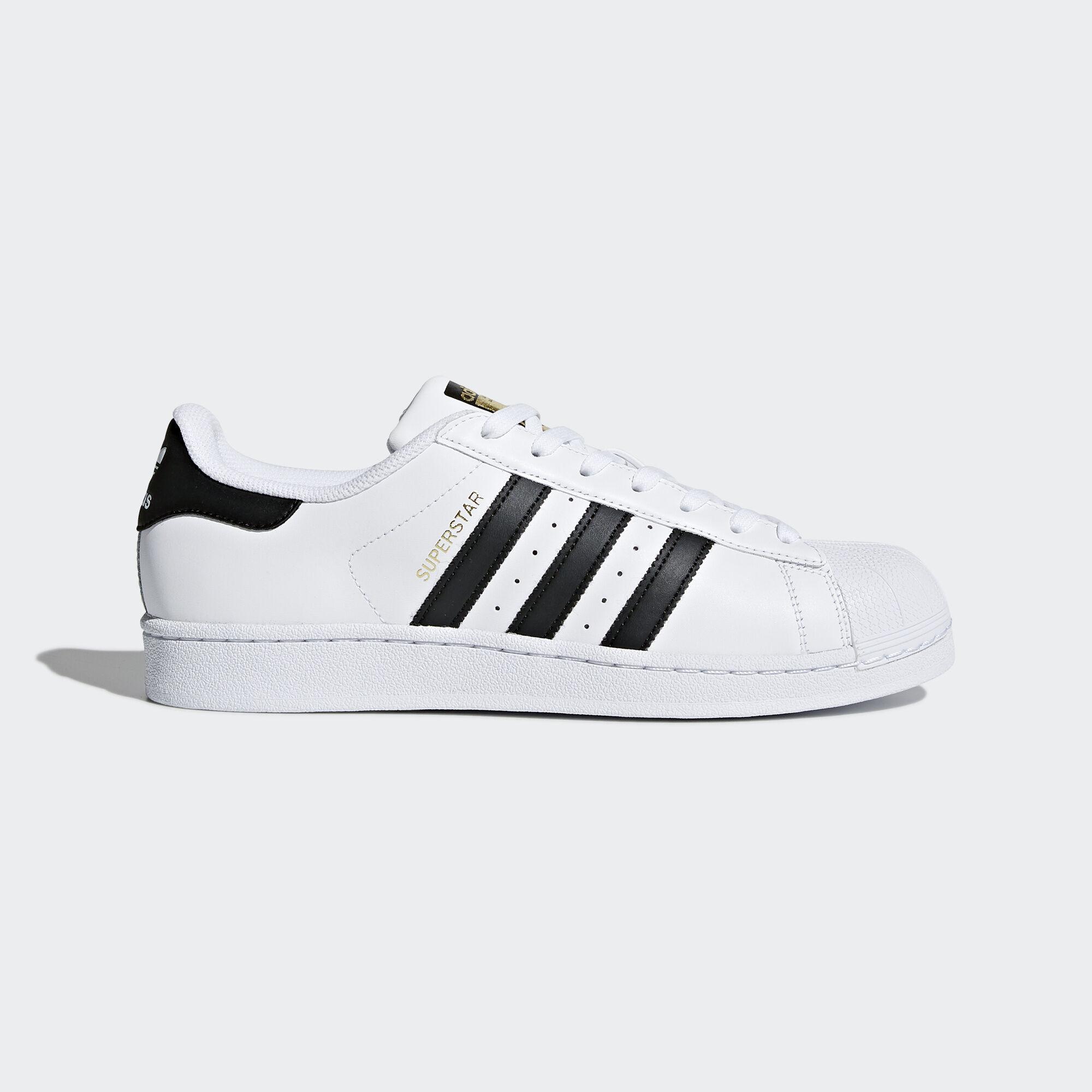 hkymj adidas Superstar Shoes - White | adidas US