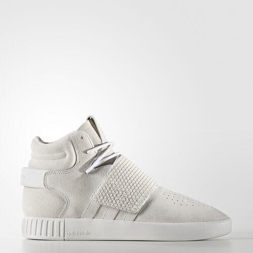 adidas - Tubular Invader Strap Shoes Running White Ftw  /  Running White Ftw  /  Running White Ftw BB5038