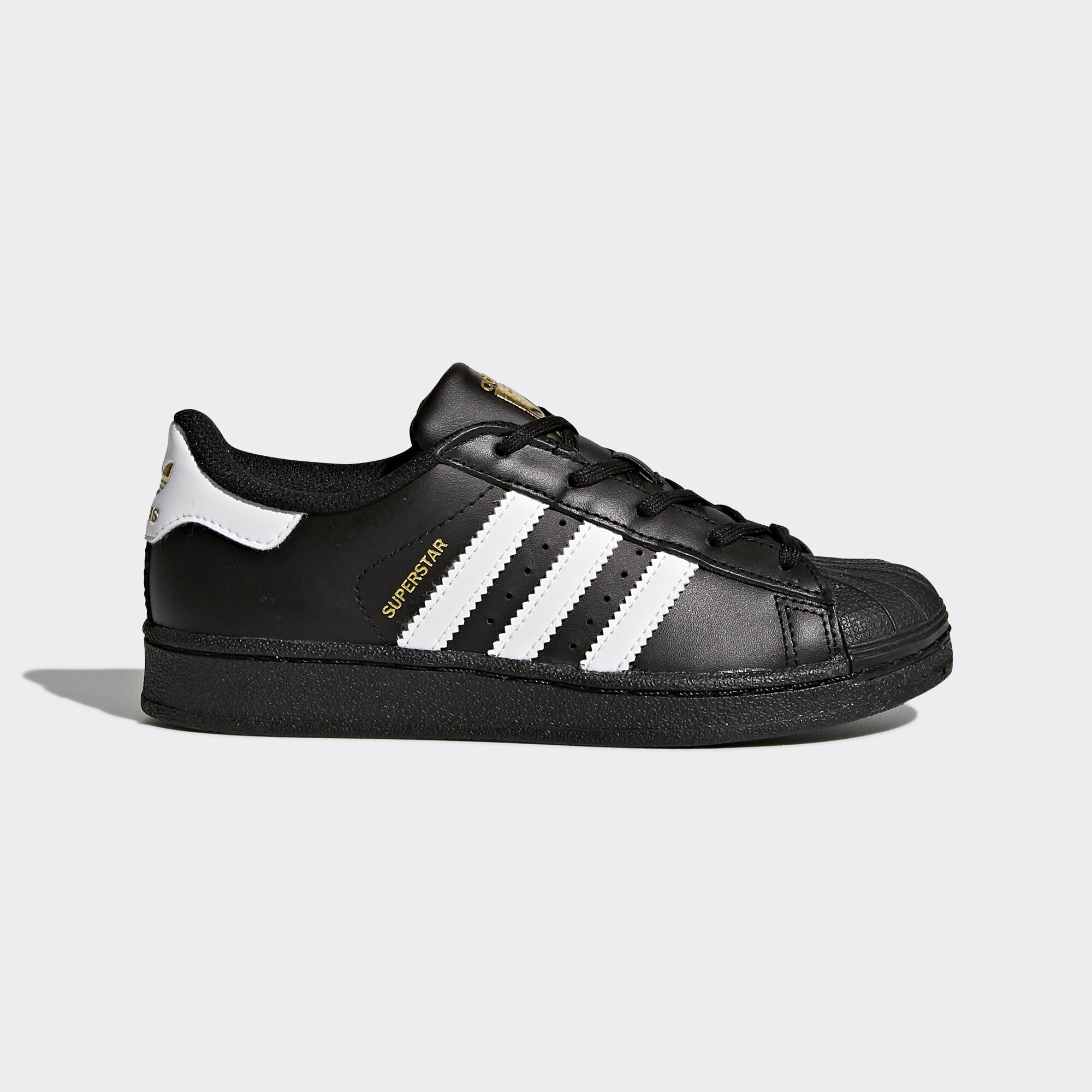 adidas Superstar Foundation Sneaker schwarz & weiß DEUTSCH On