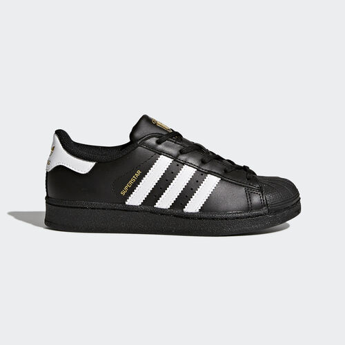 adidas - Superstar Foundation Shoes Core Black  /  Running White Ftw  /  Core Black BA8379