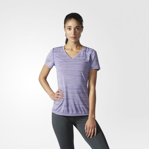 adidas - Ultimate V-Neck Tee Unity Purple S97574