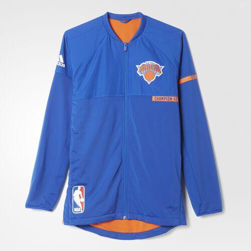 Adidas Knicks On Court Warm Up Jacket Multicolor Adidas Us