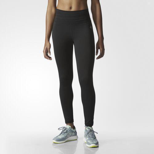 adidas - Performer High-Rise Long Tights Black  /  Matte Silver AJ2073