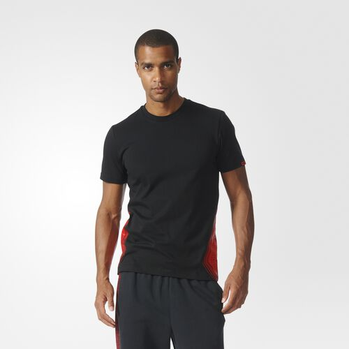 adidas - D Rose One Spark Tee Black AX8069