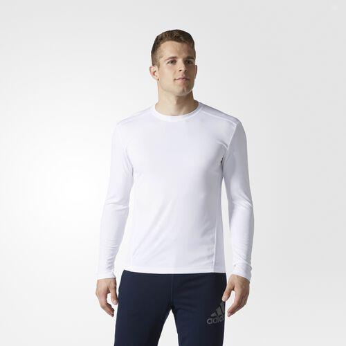 adidas - CLIMACOOL SINGLE LONG-SLEEVE CREW White BA3929