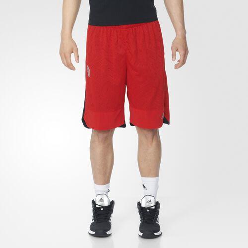 adidas - Dame Oakland Shorts Scarlet AX7978