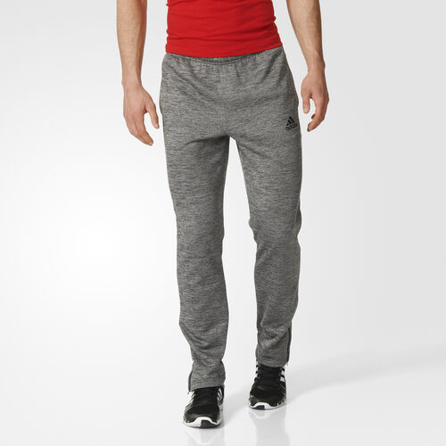 adidas - Team Issue Fleece Tapered Pants Solid Grey  /  Colored Heather  /  Black AY7463