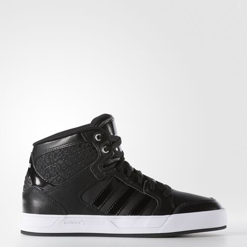 adidas - BBNEO Raleigh Mid Shoes Black  /  Black  /  Running White F76268
