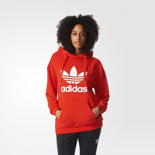 adidas - Trefoil Hoodie Core Red BK7139