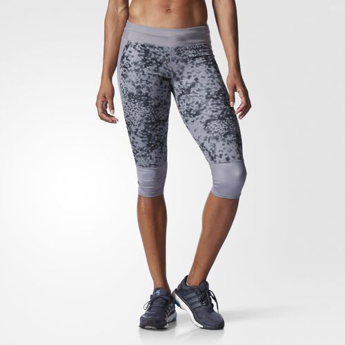 adidas - Supernova Three-Quarter Tights Grey AA2342